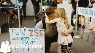 Airline Employees Help Family Throw Party For Returning Sailor
