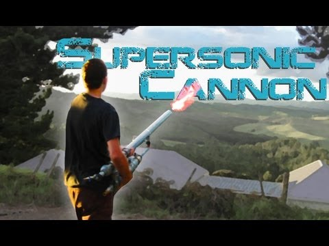 Supersonic Golf ball Cannon