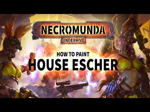 Necromunda: How to paint House Escher.