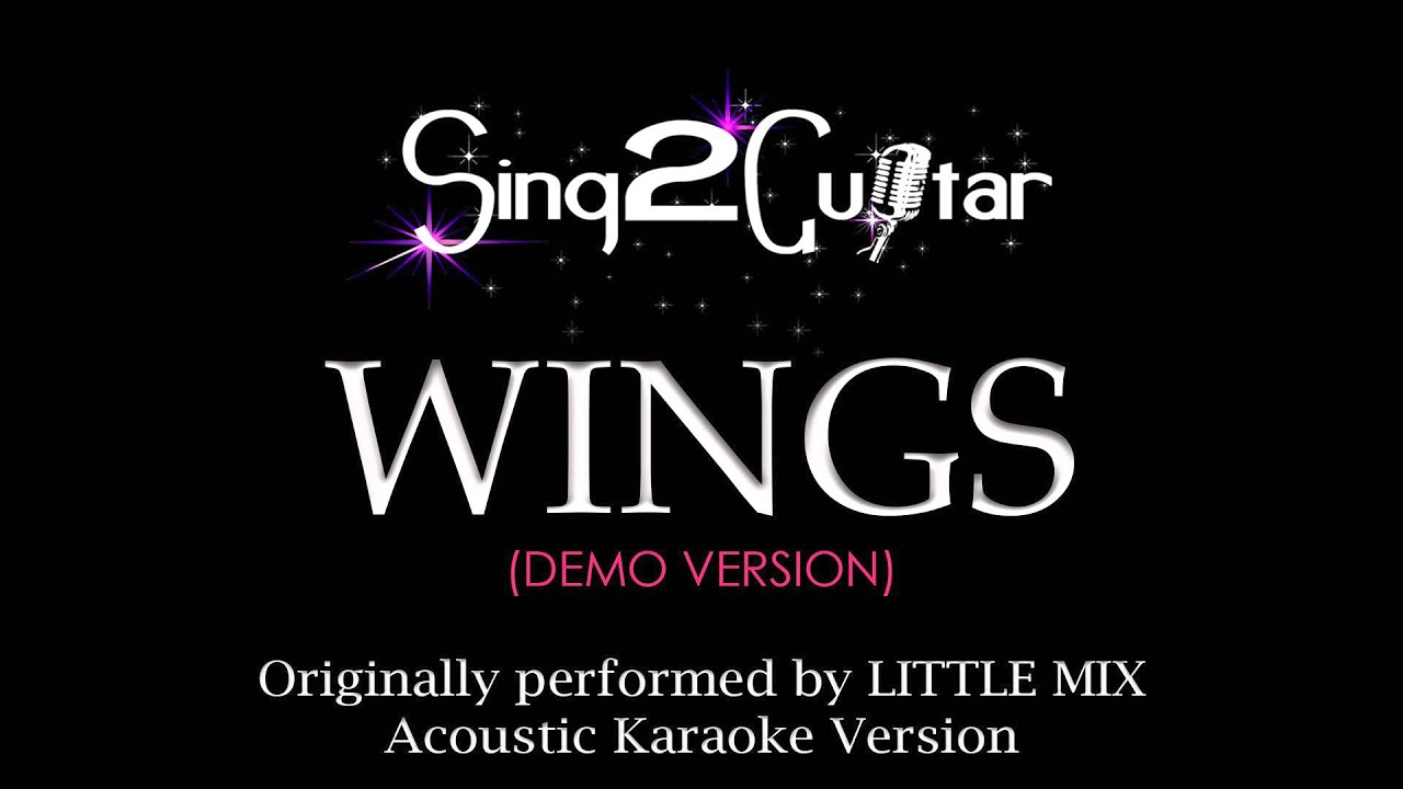 Little Mix - Wings (Karaoke Version) - YouTube