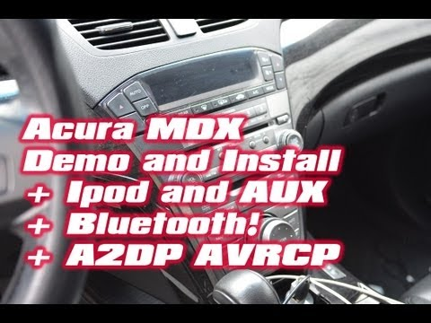 Acura MDX IPOD & BLUETOOTH.  Ipad Android PXAMG Aux PGHHD20C XM NAV TRAFFIC ISBT21 Bluestream