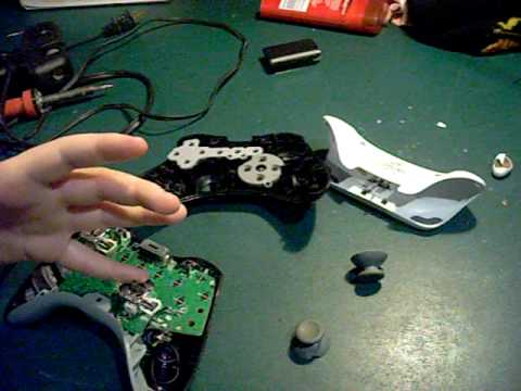 how to rapid fire mod  a xbox 360 wireless controller (no chip)