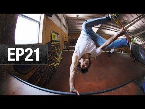 The Flyin' Hawaiian - EP21 - Camp Woodward Season 10