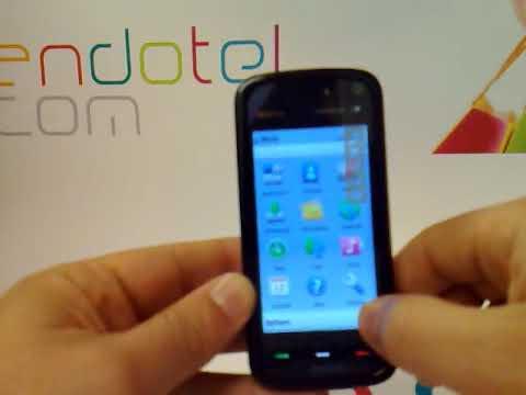 Nokia 5800. Demostracion del Nokia 5800 a cargo de Andotel.com
