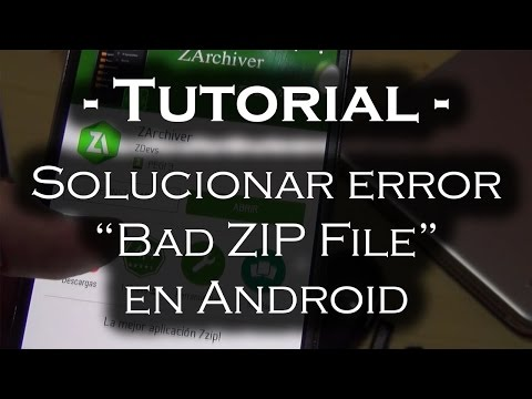 Android Bad Zip