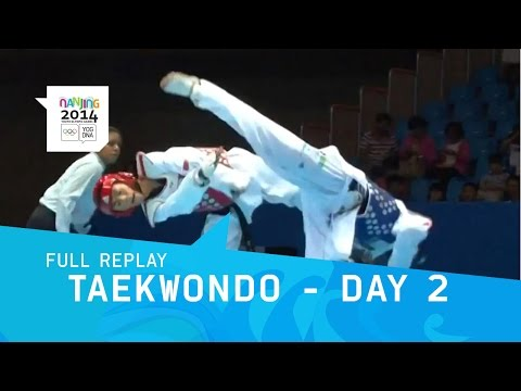 Taekwondo - Qualifications Men -55 kg/Women -49 kg | Full Replay | Nanjing 2014 Youth Olympic Games