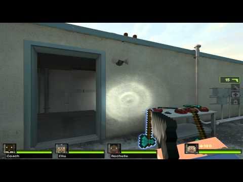 Mod para Left 4 Dead 2 minecraft (link de descarga)