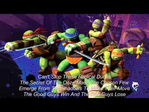 Teenage Mutant Ninja Turtles Theme Song Lyrics