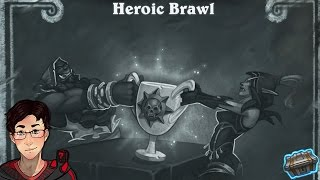 Hearthstone - Tavern Brawl: HEROIC TAVERN BRAWL FINALLY! (HIGH RISK, HIGH REWARD)