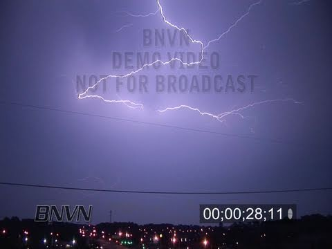 6/8/2007 Virginia Beach, VA Lightning Video