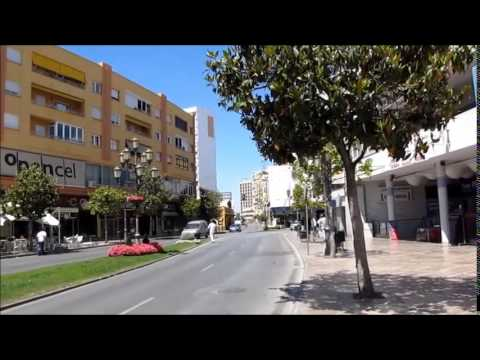 In Streets Of Torremolinos A Del Sol Spain