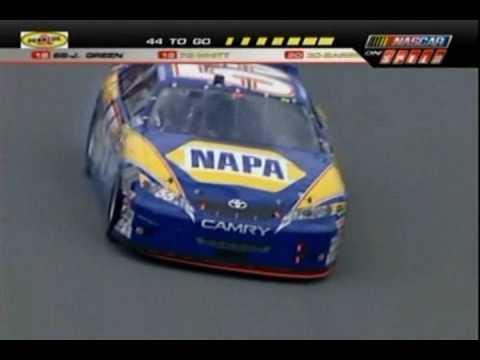 2007 Daytona Gatorade Duel Dale Earnhardt Jr. Spin