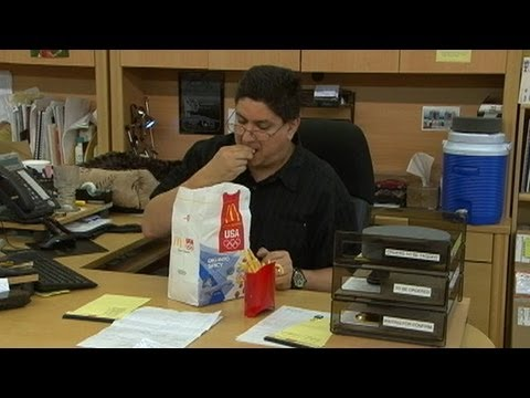 Big Fat Experiment: Participants Paid to Eat Fast Food