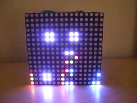 LED Box running Conway s  Game of Life
