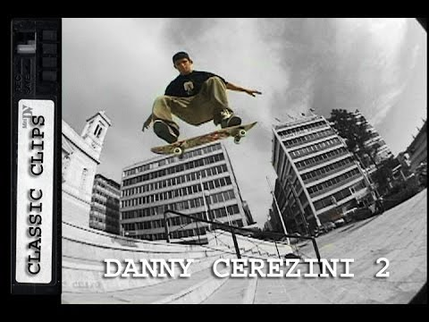Danny Cerezini Skateboarding Classic Clips #158 Greece Part 2