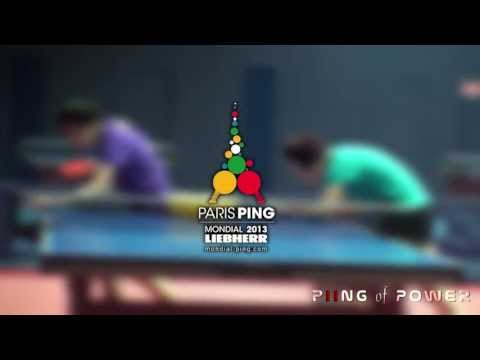 Chinese Training Before the World Table Tennis Championships