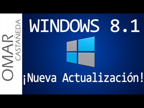 WINDOWS 8.1 NUEVA ACTUALIZACION 2014