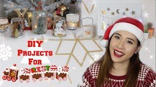 Tự làm đồ trang trí Noel - DIY projects for christmas 2016 ♡Truc's hobbies♡