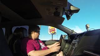 Burger King Whoppers in Drive-Thru 2 for $6 Deal, Gila Bend, Arizona, 25 May 2019, GOPR0663