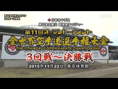 第11回全世界空手道選手権大会 3回戦~決勝戦 DVD CM