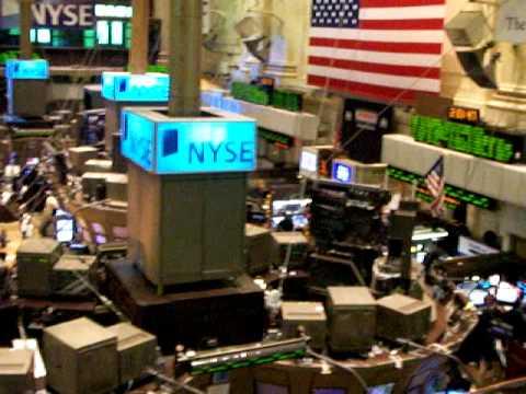 how stock market floor works
