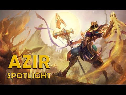 League of Legends: Azir First Look Champion Spotlight Guide new champion