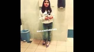 Download حلا الترك تغني حبني او حب غيري في الحمام   حصري 3Gp Mp4