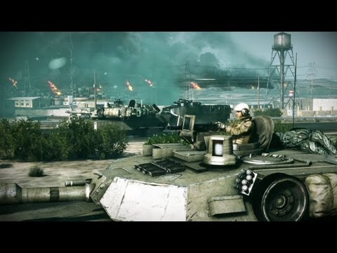 Battlefield 3 Launch Trailer (New Gameplay Video)