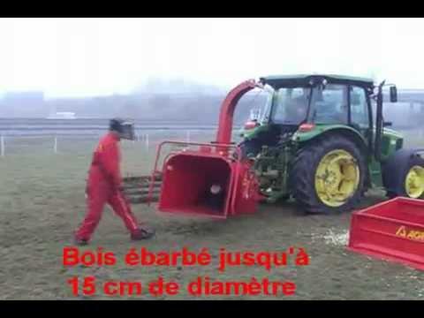 Broyeur de branche pour tracteur