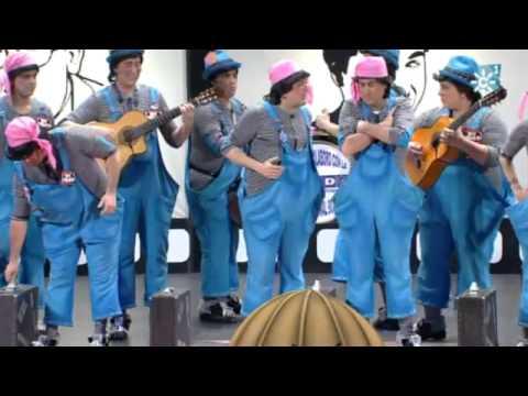 """Chirigota """"Los protagonistas"""" FINAL completo. Carnaval Cadiz 2012"""