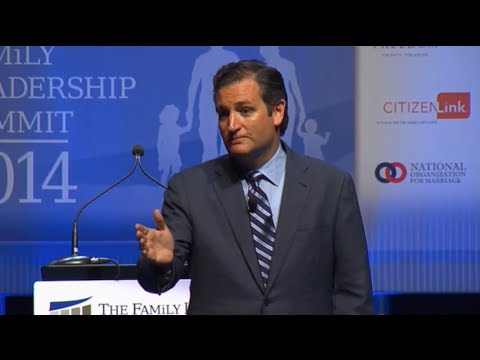 Sen. Ted Cruz at the Family Leadership Summit