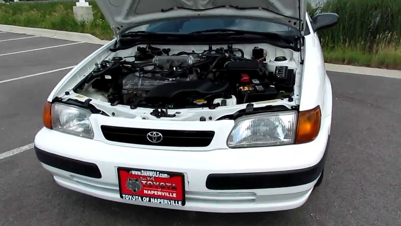 1997 Toyota Tercel Ce Start Up And Walk Around Low Miles