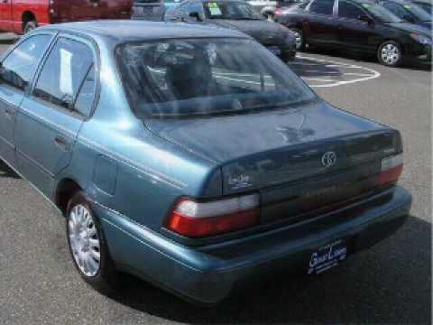 1996 Toyota Corolla Streetsboro Oh Youtube