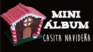 Mini Album Casita Navideña (Manualidad 182)