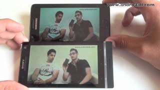 Videocomparativa Samsung Galaxy S II vs Sony Xperia S [HD][ESPAOL]