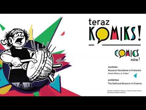 Wystawa Teraz Komiks! W Muzeum Narodowym W Krakowie