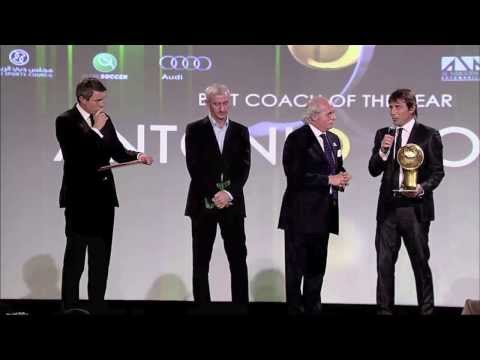 Globe Soccer Awards 2013 - Best Coach of the year (Antonio Conte)