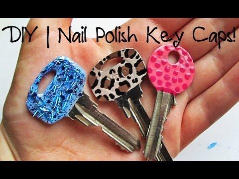 Diy | Nail Polish Key Caps