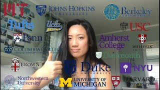 college decision reactions 2019!!! (harvard, mit, columbia, 15+ more)
