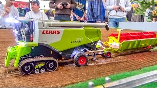 RC tractor ACTION in 1/32 scale!