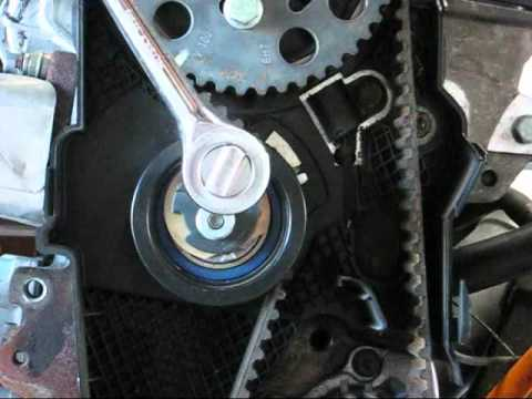 VW TDI engine timing belt tensioner - BHW Passat TDI and BRM Jetta TDI