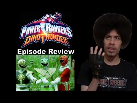 Power Rangers Dino Thunder Episode Review - Fighting Spirit