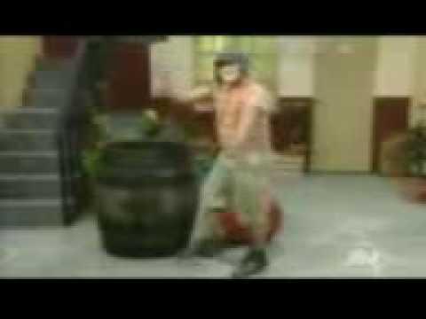 El Chavo Bailando Regueton video