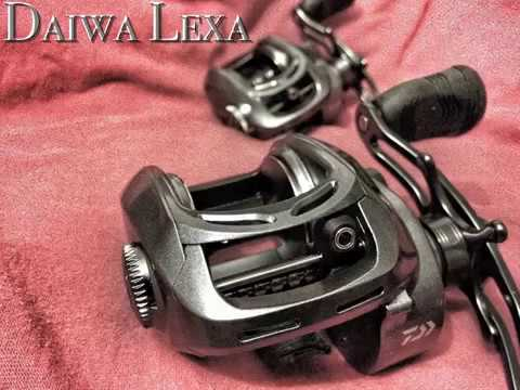 Fishing report - Daiwa Lexa 100HSL Baitcast Reel Unboxing and info (TeamRippnLipz1) Video