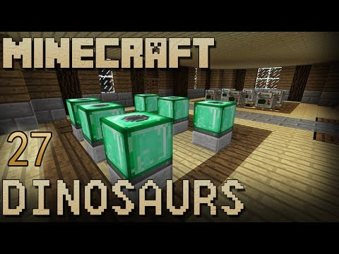 Minecraft Dinosaurs: Episode 27 - House Almost Complete!