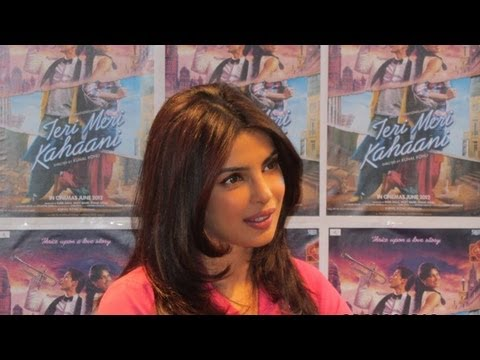 Priyanka Chopra At Teri Meri Kahaani's Press Conference In London