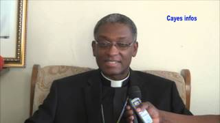 VIDEO: Interview Mgr. Chibly Langlois, 1er Cardinal Haitien