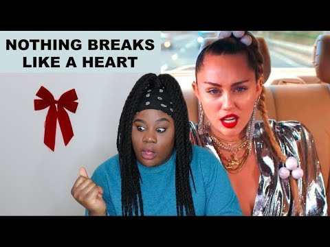 Miley Cyrus, Mark Ronson - Nothing Breaks Like A Heart |REACTION|