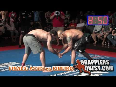 "2010 World's Best Grappler FINALS: Alexandre ""Xande"" Ribeiro vs Joao Assis at Grapplers Quest"