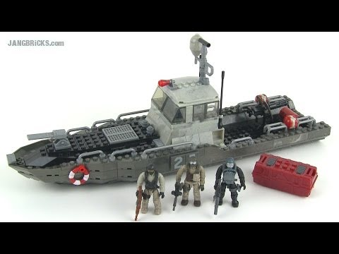 Mega Bloks Call of Duty Coastal Intercept set in-hand Review!